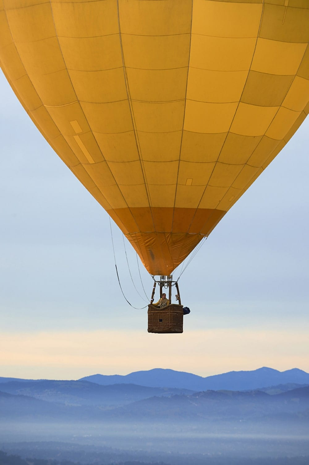 Women in non traditional occupations Ballooning